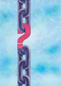 Question Mark Link In Chain