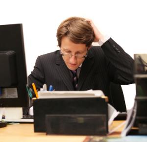 Editor at work